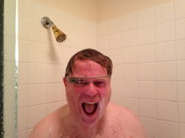 BuzzFeed: This photo of a man showering with Google Glass will haunt you for the rest of your life