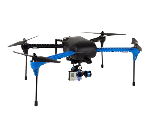 "The $599.99 IRIS+ from 3D Robotics, ""a robot that will automatically fly itself where you tell it to go, while keeping a camera dead steady"""